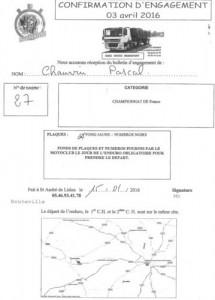 Confirmation engagement Bouteville